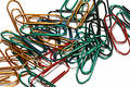 Free Colorful Paperclips Stock Photo - 372690