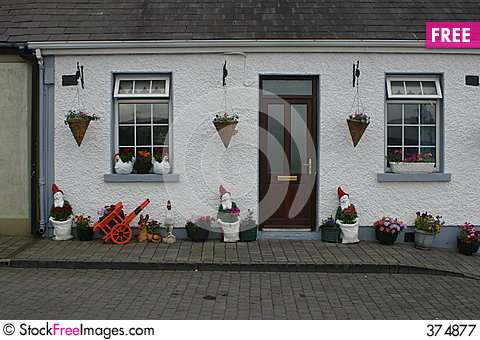 House in Kells Stock Photo