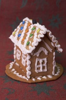 Free Gingerbread House Royalty Free Stock Photos - 372028