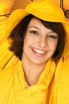 Free Smiling Its Raining Stock Photo - 372660