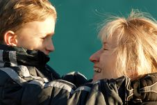Free Mother And Son Stock Photos - 373293