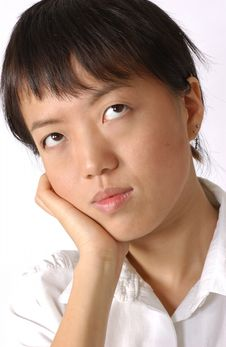 Young Chinese Woman Royalty Free Stock Photography
