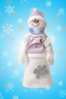 Free Decorative Snowman Stock Photo - 374520