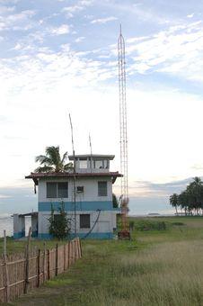 Free Panama Airport Tower Porvenir Island Stock Image - 374571