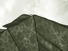 Free Umbrella In Sepia Royalty Free Stock Image - 375116