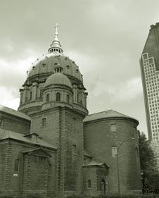 Free Church In Montreal Stock Photos - 375193