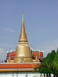 Free The Royal Palace In Bangkok Royalty Free Stock Photography - 375967