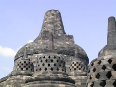 Free Borobudur Stupa Stock Photo - 376160