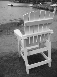 Free Empty Lifeguard Chair Stock Photo - 376400