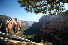 Angel S Landing Stock Photography