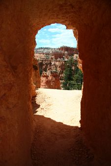 Free Bryce Entrance Stock Image - 376541