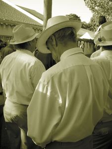 Free German Men In Hats Stock Image - 376651