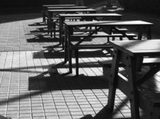 Free Picnic Benches And Tables Stock Image - 376721