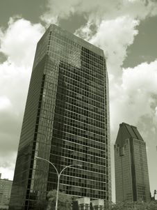 Free Sepia Buildings Stock Image - 376851