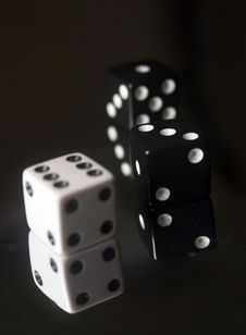 Free Three Dice Royalty Free Stock Images - 376859
