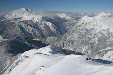 Free Winter Mountain View Royalty Free Stock Photo - 3700195