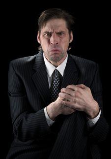 Emotional The Man Stock Photo
