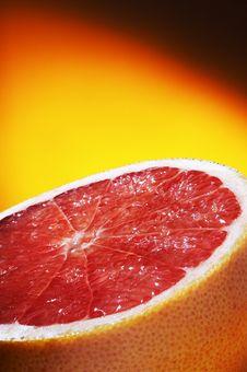 Free Half Of Grapefruit Royalty Free Stock Photos - 3700948