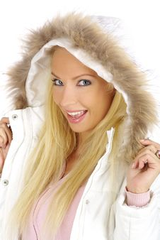 Free Winter Woman Stock Photo - 3701350