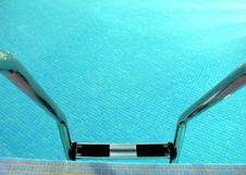 Free Pool Ladder Royalty Free Stock Photo - 3701895