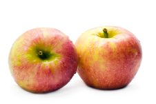 Free Two Fresh Apples Stock Photos - 3702593