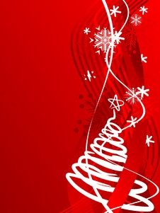 Free Winter Background. [Vector] Royalty Free Stock Photos - 3702688