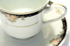 Free Porcelain Tea Cup And Saucer 3 Stock Image - 3702811