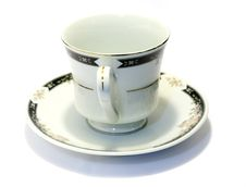 Free Porcelain Tea Cup And Saucer 2 Stock Image - 3702821