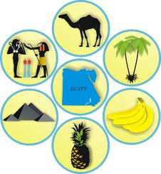 The Countries Of The World, Egypt Royalty Free Stock Photos
