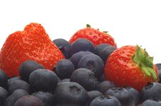 Free Strawberry And Bilberry Stock Photo - 3703650
