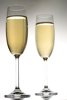 Free Champagne Glass Royalty Free Stock Photo - 3703755