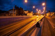 Havana Night Lights Stock Image