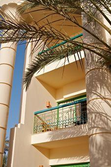 Free Hotel S Balcony Stock Photography - 3706452