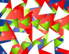 Abstract Christmas Background 4 Stock Photography