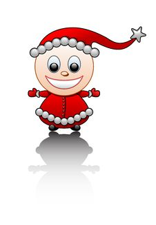 Free Little Santa S Helper Stock Images - 3706974