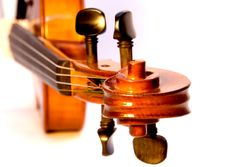 Free Violin Scroll Stock Photography - 3707622