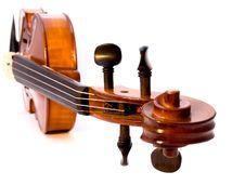 Free Violin Scroll Royalty Free Stock Photo - 3707625