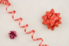 Free Bow And Ribbon Royalty Free Stock Images - 3707739