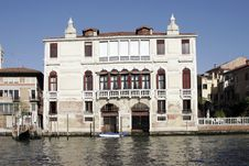 Free Venice, Italy - Water Front Facade Stock Photography - 3709252