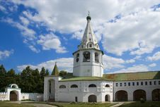 Free Bell Tower And Orthodox Church With Cross Stock Image - 3709901