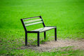 Free Lonely Broken Bench In The Park Royalty Free Stock Photos - 37051238