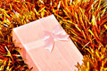 Free Pink Xmas Gift Royalty Free Stock Photos - 3710958