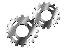 Free Gears Royalty Free Stock Image - 3710486