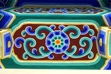 Free Chinese Building Ornament Pattern Stock Image - 3710771