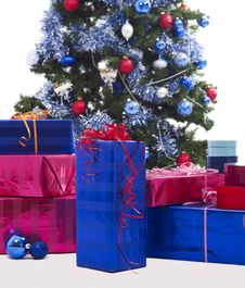 Free Christmas Tree XXL Royalty Free Stock Photo - 3711445