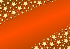 Free Diagonal Stars On Red Gradient Royalty Free Stock Images - 3711579
