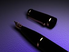 Free Fountain Pen Royalty Free Stock Photography - 3711827