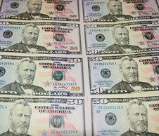 50 Dollars Stock Photo