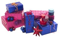 Free Christmas Gifts XXL Stock Image - 3712051