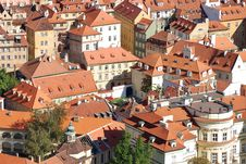 Free Prague Roofs Stock Photography - 3712182